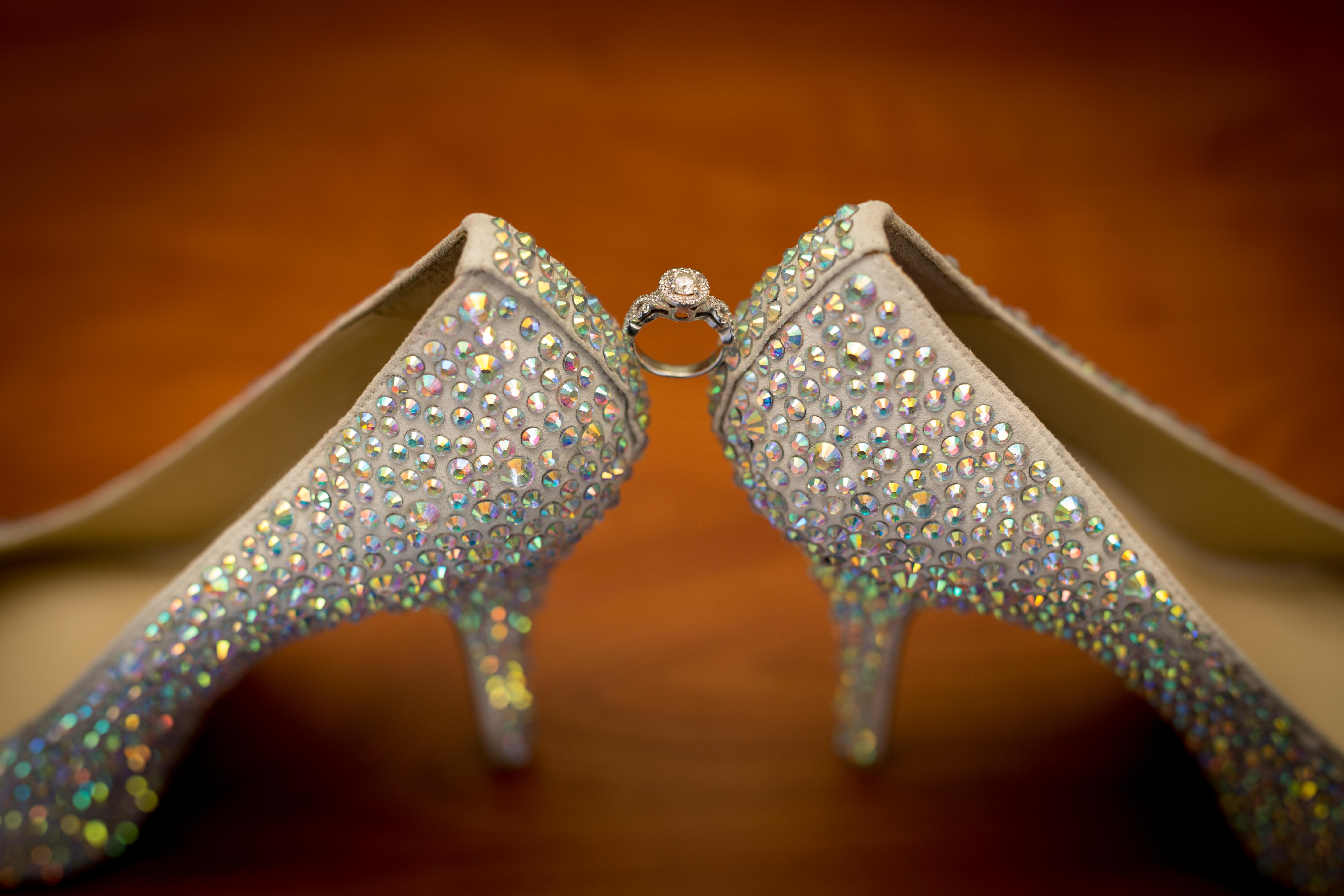 Wedding Ring with Shoes - CT Photo Group wedding photography